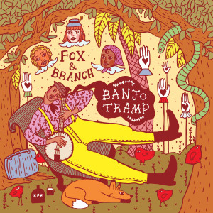 Album cover for local Milwaukee folk band, Fox & Branch